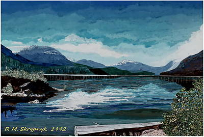 Painting - Buttle Lake by David Skrypnyk