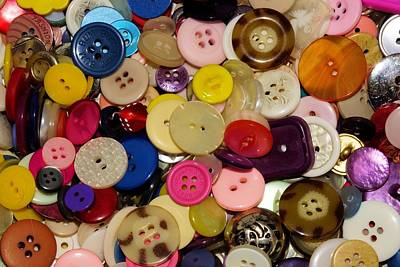 Beers On Tap - Buttons 670 by Ron Harpham