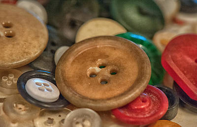 Photograph - Buttons by Brenda Bryant