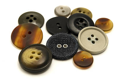 Photograph - Buttons by Fabrizio Troiani