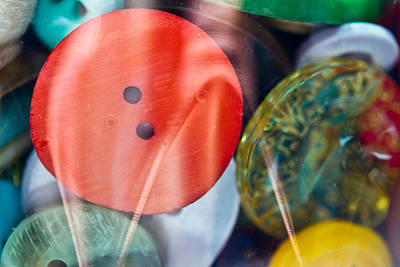 Photograph - Buttons - Sewing - Notions by Marie Jamieson