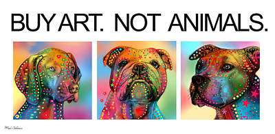 Dogs Digital Art - Buy Art  by Mark Ashkenazi