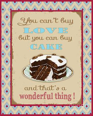 Buy Cake Typography Original