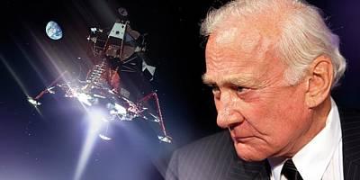 Buzz Aldrin Art Print by Detlev Van Ravenswaay