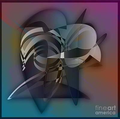 Buzzard Digital Art - Buzzard by Iris Gelbart