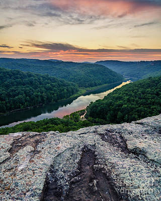 Photograph - Buzzard Rock Last Light by Anthony Heflin