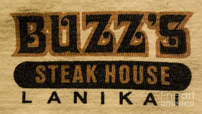 Buzz's Steak House Lanikai 2 Art Print