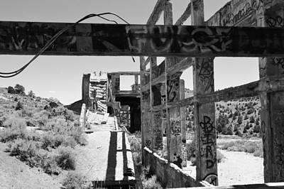 Photograph - Bw American Flats 6 by Brent Dolliver