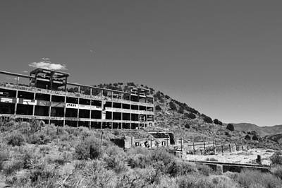 Photograph - Bw American Flats by Brent Dolliver