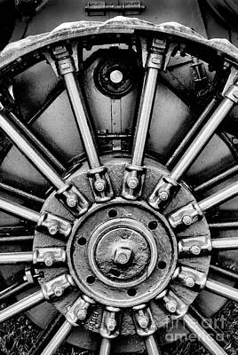 Photograph - Bw Big Wheel by Paul W Faust -  Impressions of Light