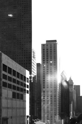 Photograph - Bw City by Kathy Corday