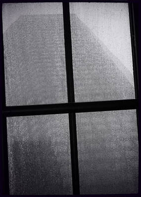 Photograph - Bw Monolith Film Noir Skylight I by Tony Grider