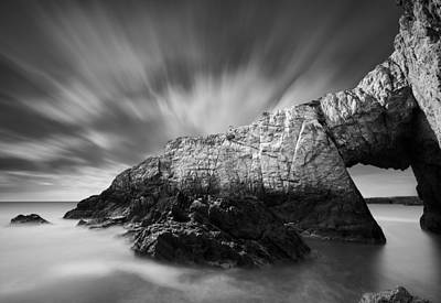 Anglesey Photograph - Bwa Gwyn by Dave Bowman