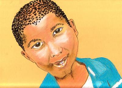 Pastel - Bwana by Lorna Lorraine