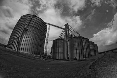 Silos Photograph - Bwdynamicsilos-7 by Pittsburgh Photo Company