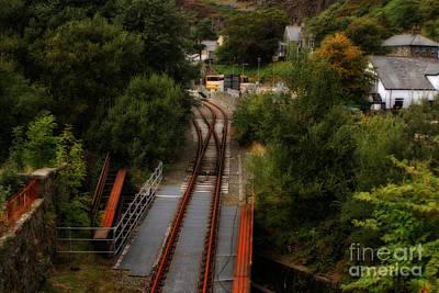 Photograph - Bwlch Y Gwynt Railroad In Conwy - Wales by Doc Braham