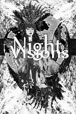 Digital Art - B.w.nightvisions by Asegia