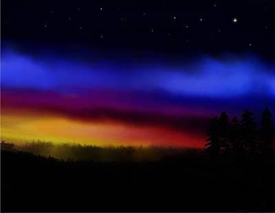 By Dawns Early Light Art Print by Steve Hermann