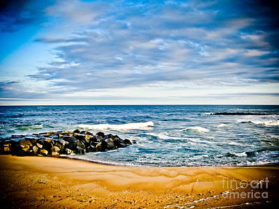 By The Beautiful Sea Art Print by Colleen Kammerer