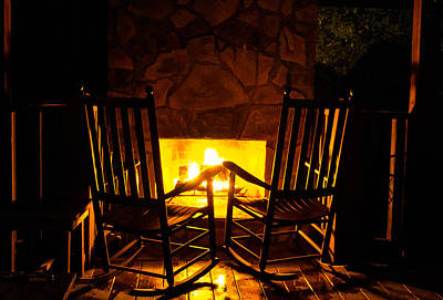 Photograph - By The Fire by Shannon Harrington