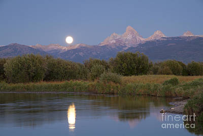 Photograph - By The Light Of The Moon by Idaho Scenic Images Linda Lantzy
