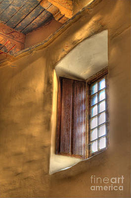 Mission San Diego Photograph - By The Light Of The Window by Bob Christopher