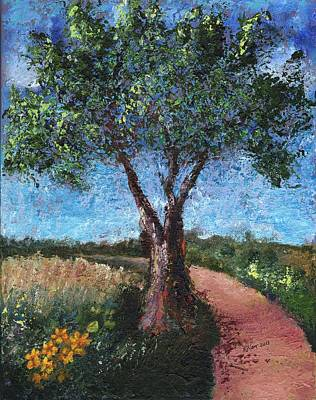 Painting - By The Path by William Killen