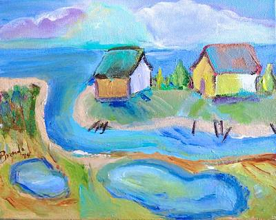 Painting - By The Sea by Brenda Ruark