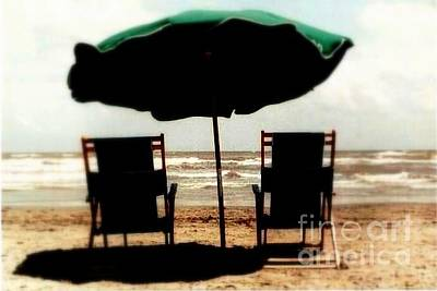 Photograph - By The Sea By The Sea By Beautiful Galveston Beach by Michael Hoard