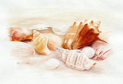 Painting - By The Sea by Erin Rickelton