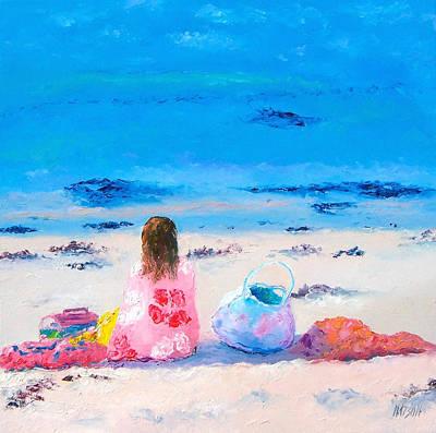 By The Seaside Print by Jan Matson