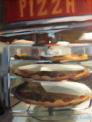 Painting - By The Slice by Erin Rickelton