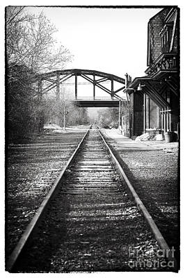 Photograph - By The Station by John Rizzuto