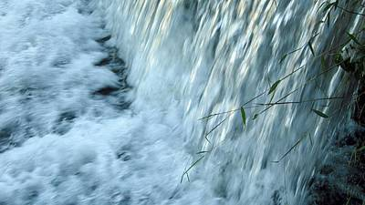 By The Weir Dam Art Print