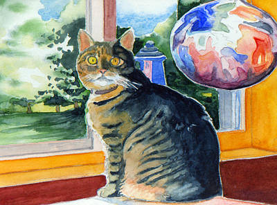 By The Window Art Print by Katherine Miller