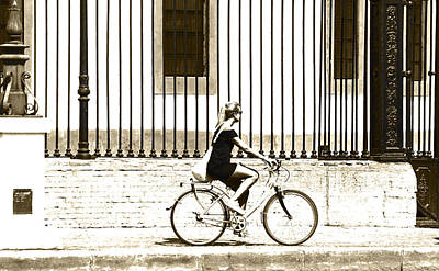 Photograph - Bycicle by Herbert Seiffert