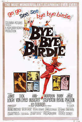 Paul Lynde Photograph - Bye Bye Birdie, Us Poster, From Left by Everett
