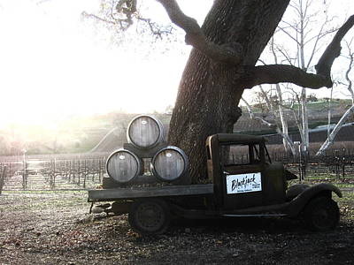 Central Coast Winery Photograph - Bygone Era by Paul Foutz