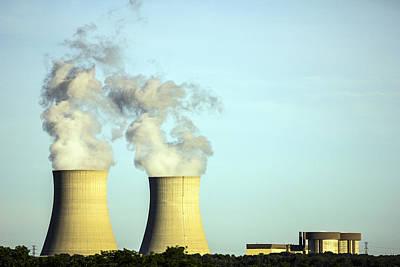 Byron Nuclear Plant Art Print