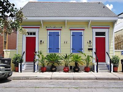 Creole Cottage Wall Art - Photograph - Bywater Cottage by William Morgan