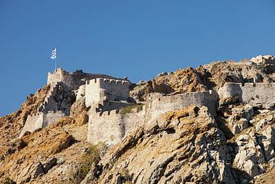 Byzantine Photograph - Byzantine Castle by Ashley Cooper