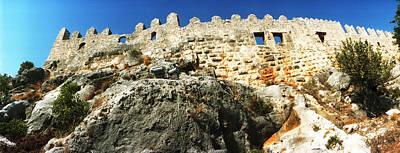 Byzantine Photograph - Byzantine Castle Of Kalekoy, Antalya by Panoramic Images