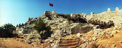Byzantine Castle Of Kalekoy Art Print by Panoramic Images
