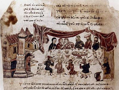 Byzantine Painting - Byzantine Festival, 1368 by Granger