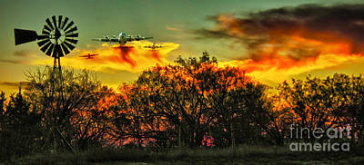 Arkansas Photograph - Wildfire C-130  by Robert Frederick