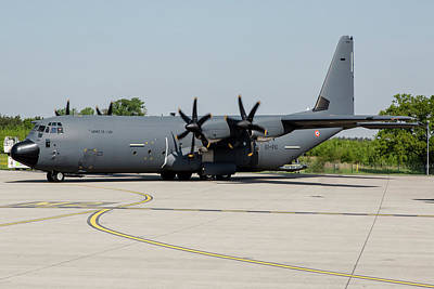 Photograph - C-130j For The French Air Force by Timm Ziegenthaler