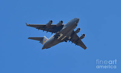 Photograph - C 17 Globemaster by Derry Murphy