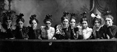 C. 1890 American Girls Art Print