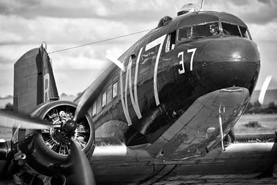 Photograph - C-47 by Ian Merton
