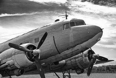 Photograph - C-47 Skytrain by Guy Whiteley